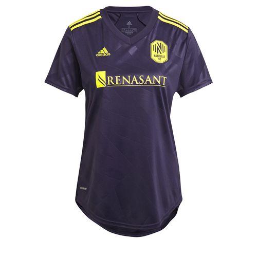 Women's Adidas Nashville Soccer Club 2021 Alternate Jersey (Noble Ink)