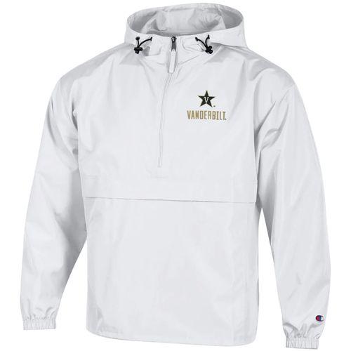 Men's Champion Vanderbilt Commodores Packable Jacket (White)