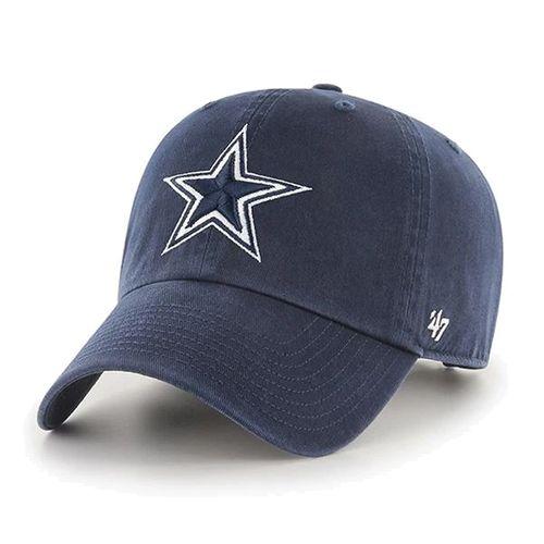 Dallas Cowboys Clean Up Adjustable Hat (Navy)
