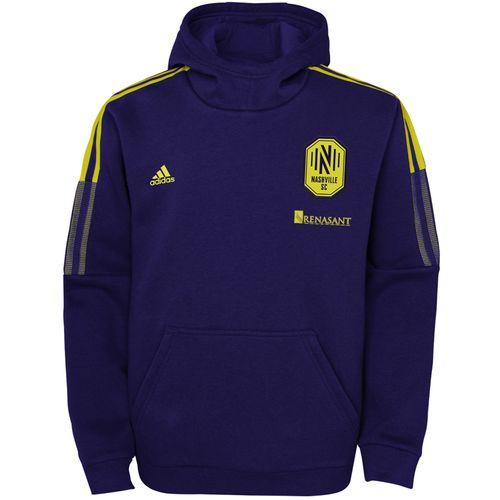 Youth Adidas Nashville Soccer Club Travel Jacket (Noble Ink)