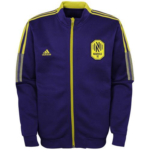 Kid's Adidas Nashville Soccer Club Anthem Jacket (Noble Ink)