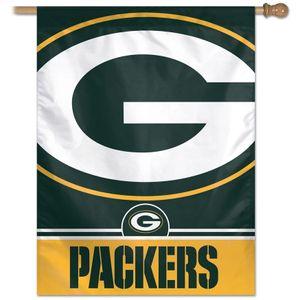 Green Bay Packers Vertical Banner Flag
