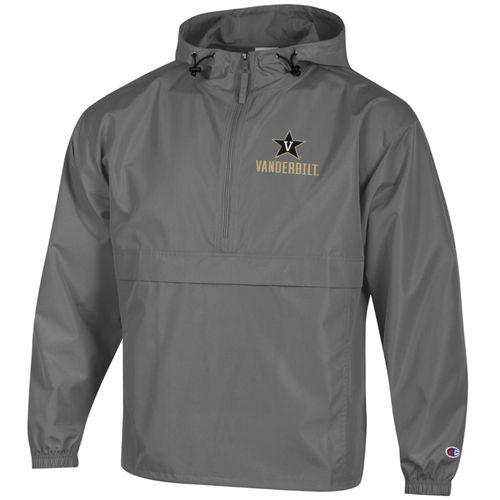 Men's Champion Vanderbilt Commodores Packable Jacket (Graphite)