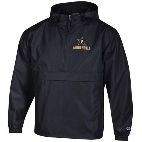 Men's Champion Vanderbilt Commodores Packable Jacket (Black)