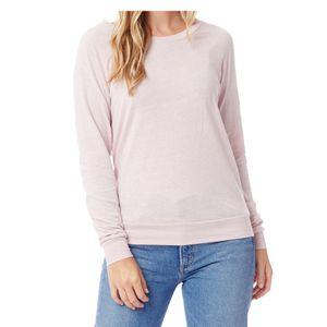 Women's Alternative Slouchy Pullover (Rose Quartz)