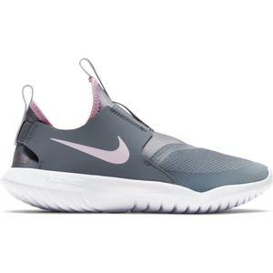 Grade School Nike Flex Runner (Smoke Grey/Pink)