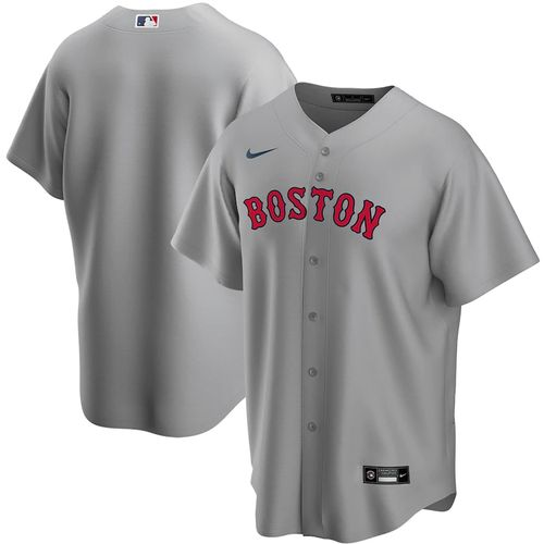 Men's Nike Boston Red Sox Road Replica Jersey (Grey)