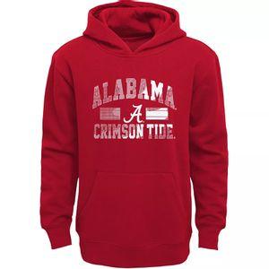 Youth Alabama Crimson Tide All For One Hooded Fleece (Crimson)