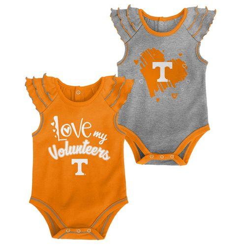 Infant Tennessee Volunteers 2-Pack Onesies Set (Multi)