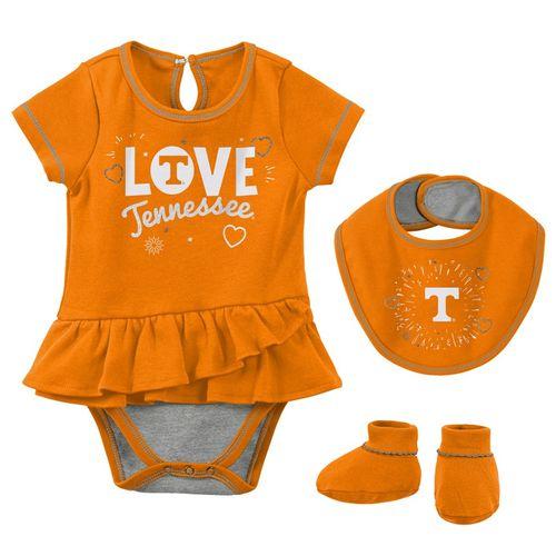 Newborn Tennessee Volunteers Play Bib & Booty Set (Orange)