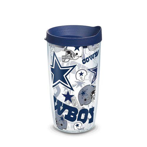 Dallas Cowboys 16oz Allover Wrap Tervis Tumbler