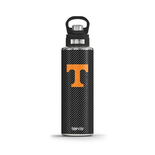 Tennessee Volunteers Carbon Fiber Tervis Water Bottle