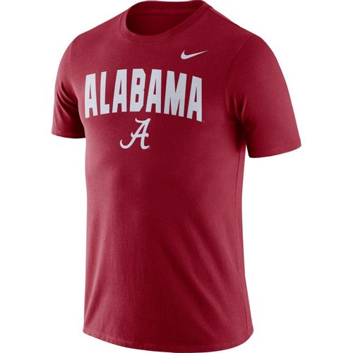 Men's Nike Alabama Crimson Tide Arch Cotton T-Shirt (Crimson)