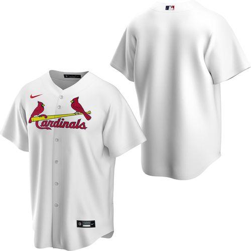 Men's Nike St. Louis Cardinals Home Replica Jersey (White)