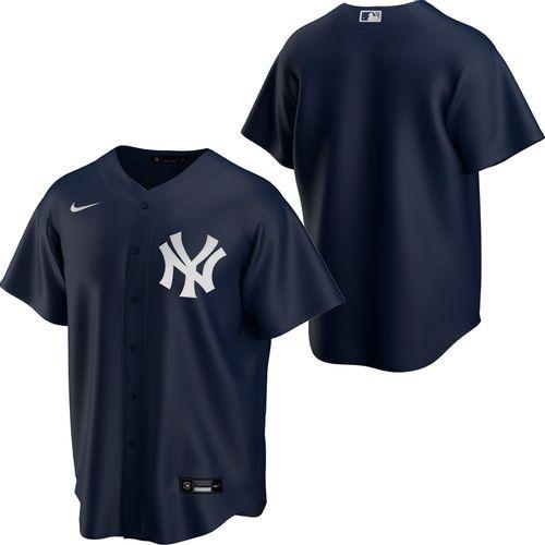 Men's Nike New York Yankees Alternate Replica Jersey (Navy)