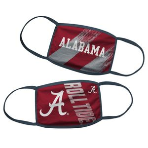 Youth Alabama Crimson Tide 2-Pack Face Coverings