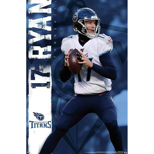 Tennessee Titans Ryan Tannehill Poster