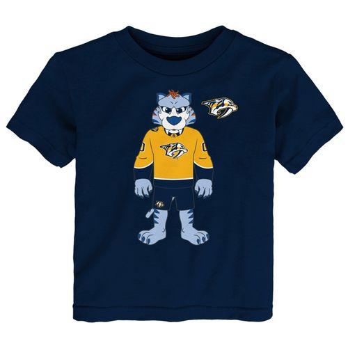 Toddler Nashville Predators Stand Mascot T-Shirt (Navy)