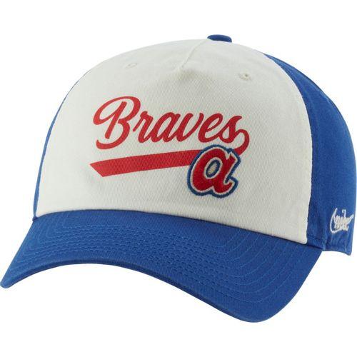 Nike Atlanta Braves Heritage86 Logo Adjustable Hat (Opal/Blue)