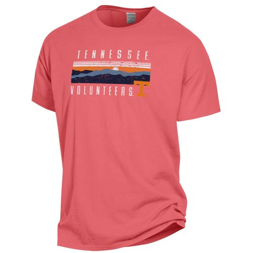Tennessee Volunteers Rocky Top Sunrise T-Shirt (Coral)