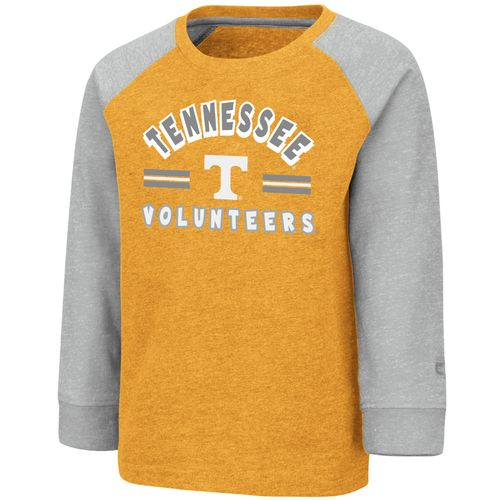 Toddler Tennessee Volunteers Logo Long Sleeve Shirt (Orange/Grey)