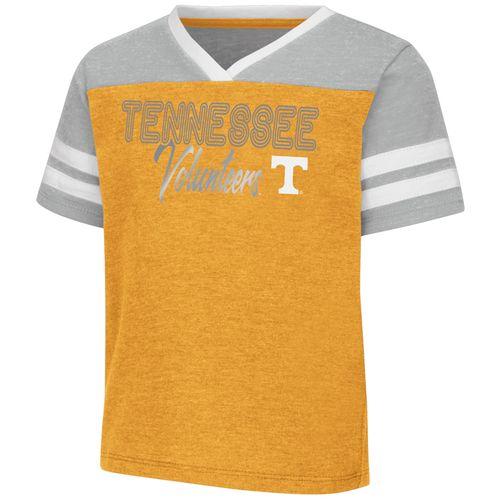 Toddler Tennessee Volunteers Sky Flowers T-Shirt (Orange)