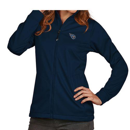 Women's Antigua Tennessee Titans Primary Golf Jacket (Navy)
