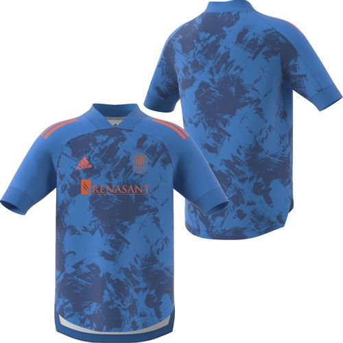 Youth adidas Nashville Soccer Club Blue Jersey (Prime Blue)