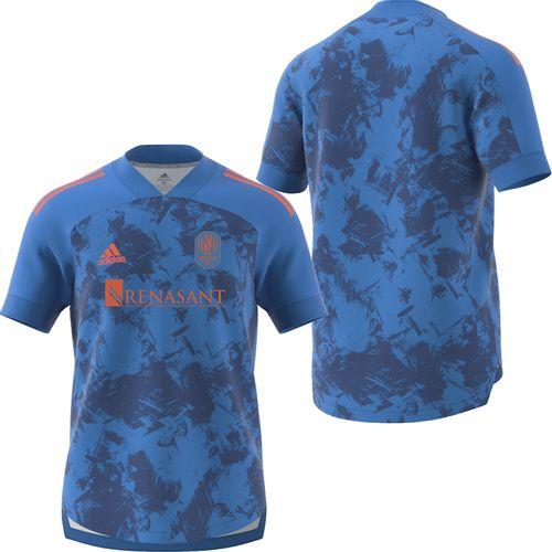 Men's adidas Nashville Soccer Club Blue Jersey (Prime Blue)