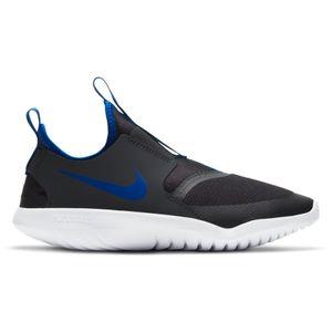 Grade School Nike Flex Runner (Black/Royal)