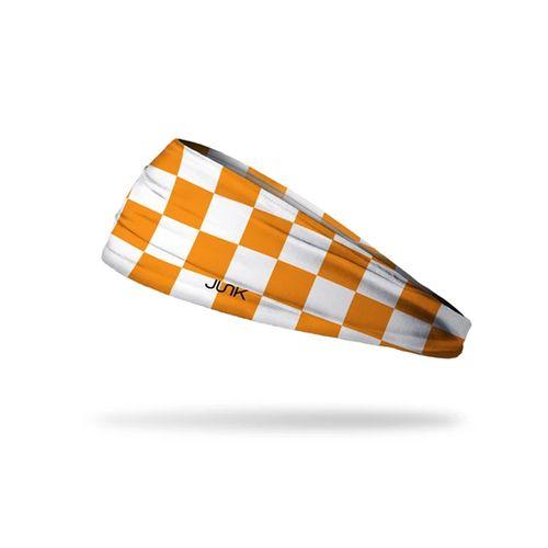 Tennessee Volunteers Checkerboard Headband (Orange/White)
