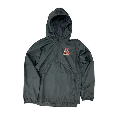 Youth Alabama Crimson Tide Packable Jacket (Black)