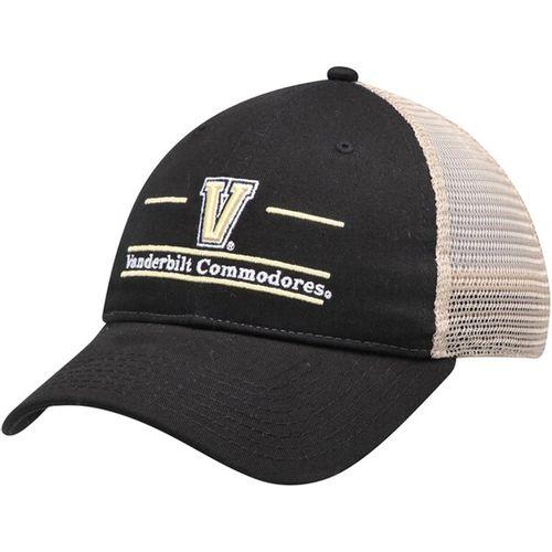 The Game Vanderbilt Commodores Split Bar Trucker Adjustable Hat (Black)