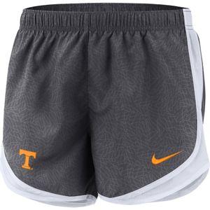 Women's Nike Tennessee Volunteers Tempo Running Short (Anthracite/Orange)