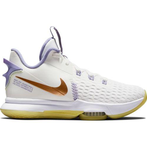 Men's Nike LeBron Witness 5 (White/Bronze)
