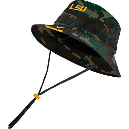 Nike LSU Tigers Dri-FIT Bucket Hat (Camo)