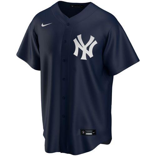 Men's Nike New York Yankees Alternate Replica Jersey Extended Sizes (Navy)