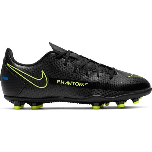 Grade School Nike Jr. Phantom GT Club Multi-Ground Soccer Cleat (Black/Black)