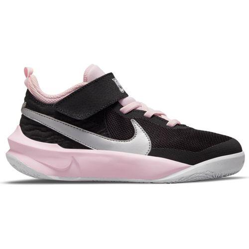 Pre School Nike Team Hustle D 10 (Black/Silver)