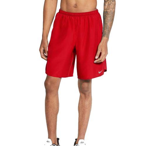 Men's Nike Challenger Short (Red/Silver)