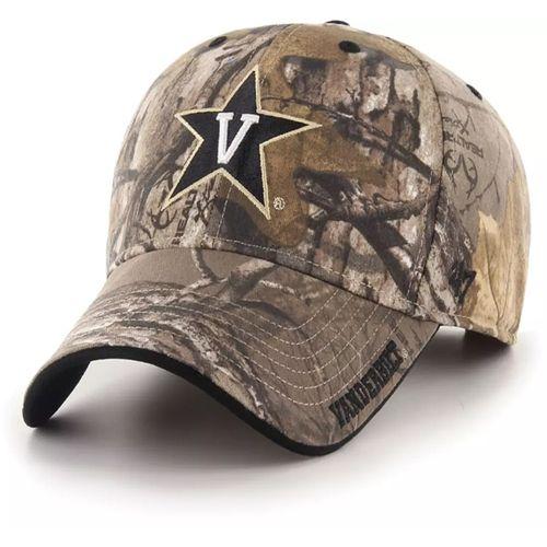 '47 Brand Vanderbilt Commodores Realtree Frost MVP Adjustable Hat (Camo)