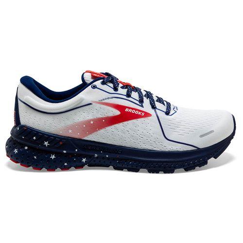 Men's Brooks Adrenaline GTS 21 Run USA (White/Blue)