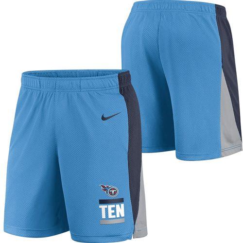 Men's Nike Tennessee Titans Logo Core Basketball Short (Light Blue)