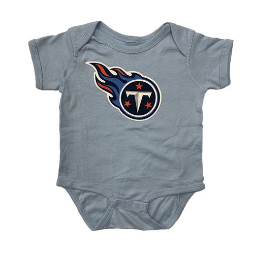 Infant Tennessee Titans Primary Logo T-Shirt (Light Blue)