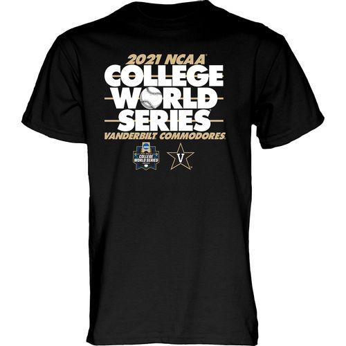 Men's Vanderbilt Commodores College World Series Bound T-Shirt (Black)