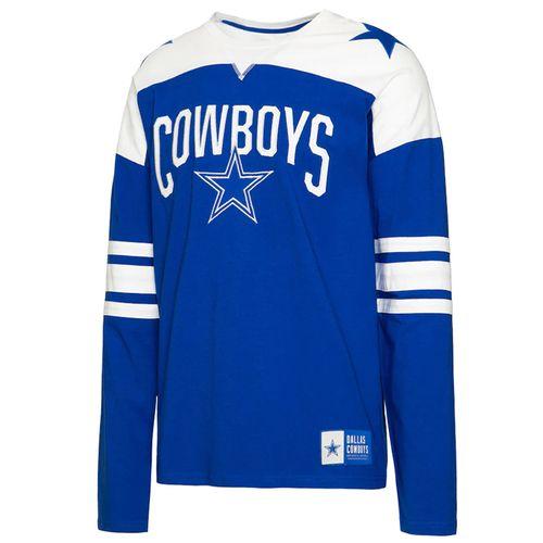 Men's Dallas Cowboys Rivalry Long Sleeve Shirt (Royal)