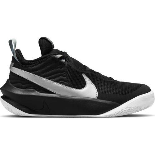 Grade School Nike Team Hustle D 10 (Black/Silver)