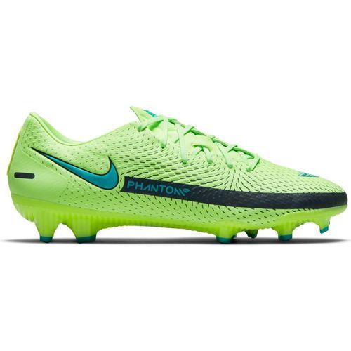 Men's Nike Phantom GT Academy Multi-Ground Soccer Cleat (Lime/Aqua)
