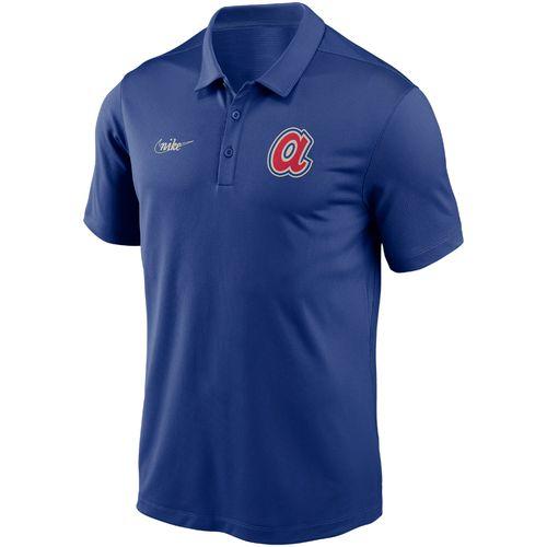 Men's Nike Atlanta Braves Cooperstown Franchise Polo (Royal)