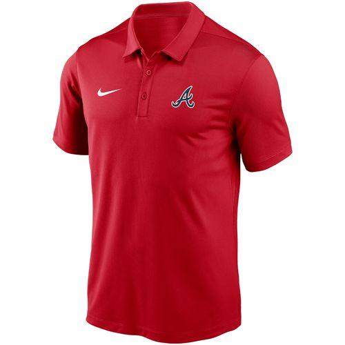 Men's Nike Atlanta Braves Franchise Logo Polo (Red)